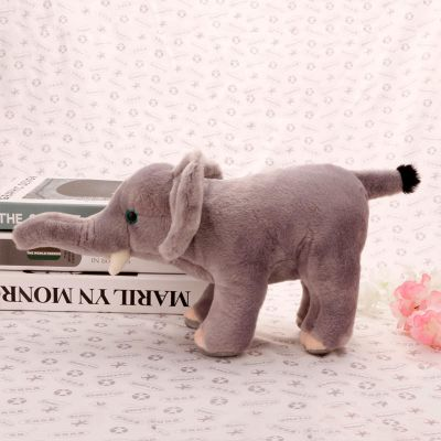 毛绒小象动物公仔定制 卡通公仔迪士尼毛绒PP棉玩具 厂家直销玩偶定做 生日礼物玩具刻字定做