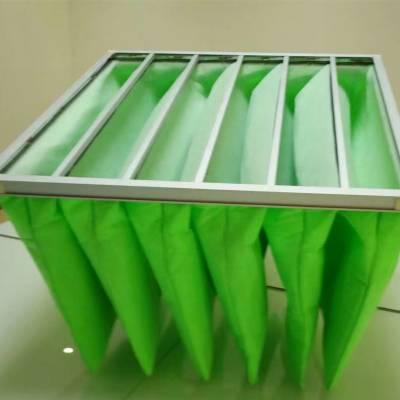 洁净室集中通风系统用G4初效袋式过滤器 初效过滤器 袋式空气过滤器