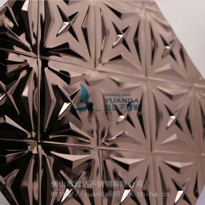 深圳304不锈钢压花板 特殊压花不锈钢板KTV大门装饰 抗击抗压抗刮痕