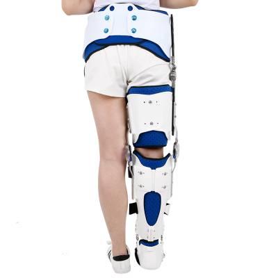 供应康信髋膝踝足支具 髋膝关节损伤固定