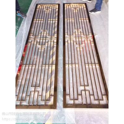 黟县不锈钢古典花格屏风厂家