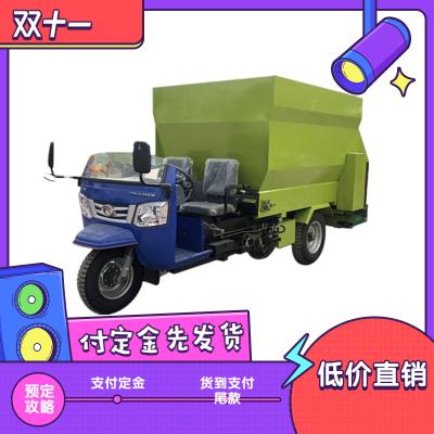 甘肃省撒料车厂家 省人工养殖撒料车 猪饲料撒料车