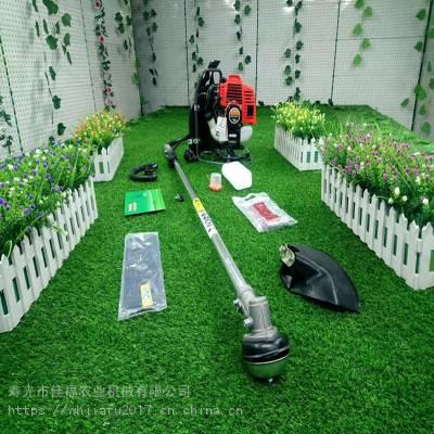 139F华盛四冲程背负式割草机汽油动力割草割灌机