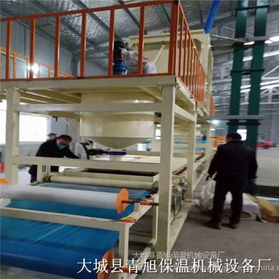 砂浆岩棉复合板设备机制水泥砂浆岩棉板生产线