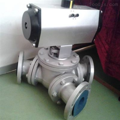 可诺泵阀Q614N/Q615N气动高压三通球阀