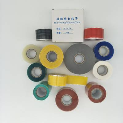 阻燃高压硅橡胶自粘带 厂家直销 耐高低温绝缘自粘带-富汇立
