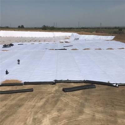 复合土工膜在上海水渠防漏的搭接宽度