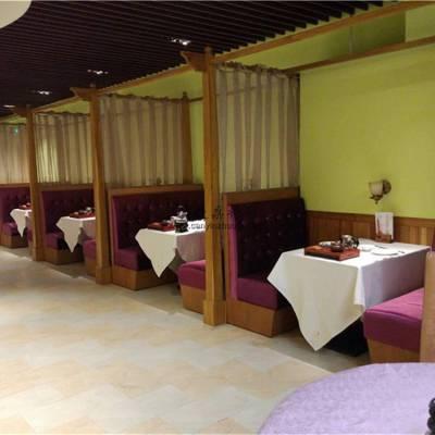 宜宾酒家卡座沙发桌子定做,宜宾饭店家具生产厂家