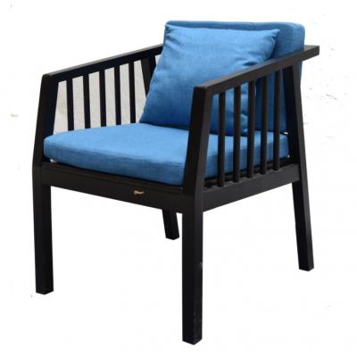 倍斯特现代中式实木扶手椅创意中西餐咖啡店厂家定制