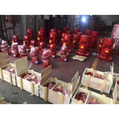 厂家供应喷淋泵型号XBD10.0/45G-L立式消火栓泵控制柜巡检柜