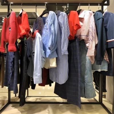 蜂后国际夏季女装尾货批发折扣女装 牛仔裤尾货批发