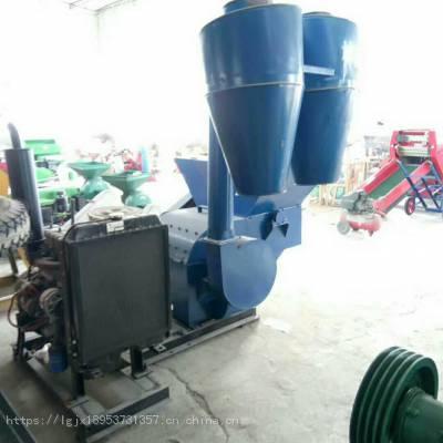 大型<b>粉碎机</b>厂家供货锤片自动进料秸秆<b>粉碎机</b>多少钱