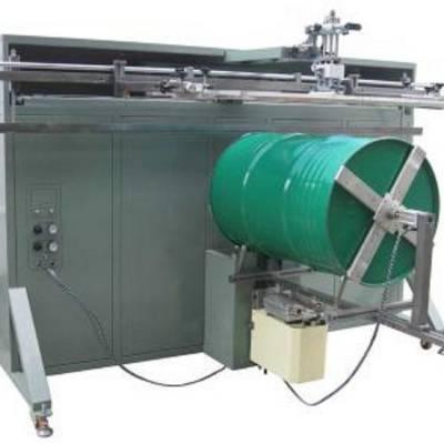 宜昌市丝印机厂家 涂料桶滚印机 塑料桶丝印机 矿泉水桶丝网印刷机
