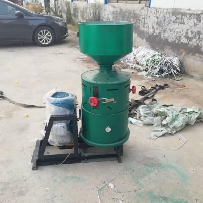 厂家直销小麦脱皮机 小型水稻碾米机 单相电黄豆碾米机