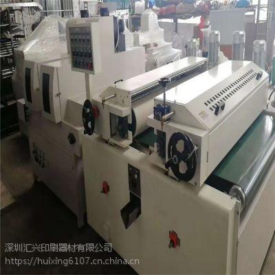 雪弗板UV光油机器 保证无气泡不变形 pvc板UV光油辊涂机