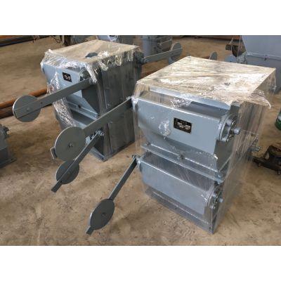 按需定制400X400型单双层重锤翻版卸灰阀