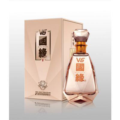 上海国缘总代理 49度 国缘V6最新报价 500ml*4瓶