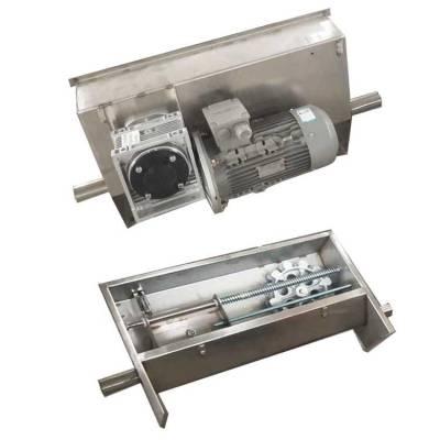 现代化猪场设备厂家 供应各种养殖设备 猪用刮粪机 自动料线设备自动清理系统