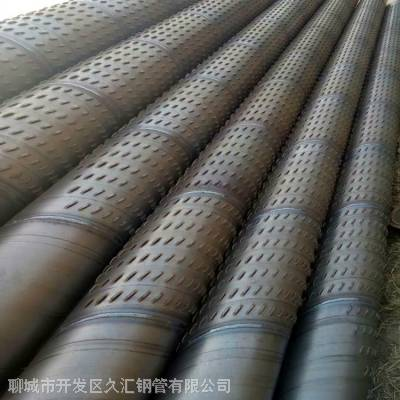 273mm桥式滤水管 下井用管箍连接