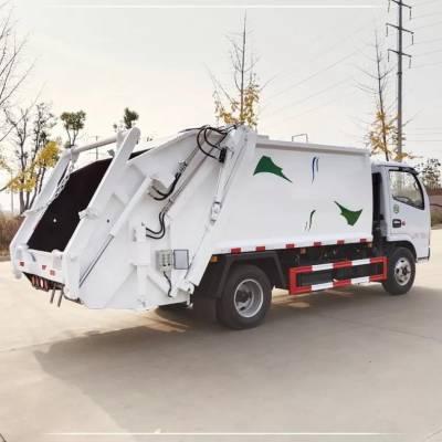压缩式垃圾车东风天龙压缩式垃圾车参数型号