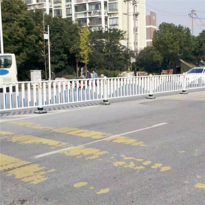 河南护栏厂南阳邓州现货u型道路护栏市政京式护栏公路马路道路隔离栏可定制