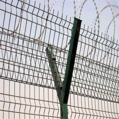 低碳钢丝网 护栏网生产厂家 浸塑围栏网