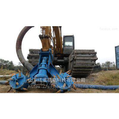 太原液压绞吸抽渣泵 污水厂专用排沙泵 挖机耐磨淤泥泵江淮泵业