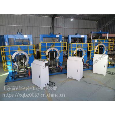 自动胶管包装机,4个电机,包装速度快,山东喜鹊