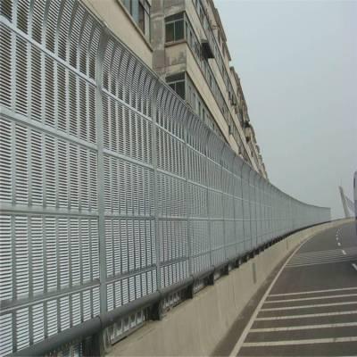 加筋板公路声屏障、道路隔音屏常用百叶还是微孔多