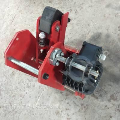起重机防风制动器 可调整轨道车轮铁楔 电力液压防风铁楔