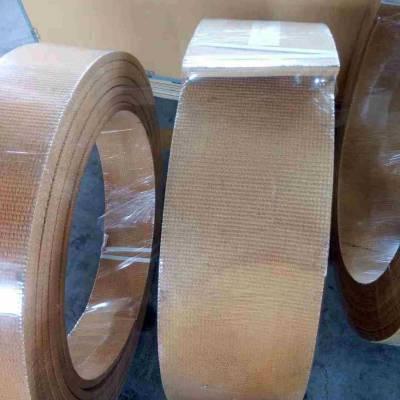 无石棉编织型刹车带 国龙树脂编织制动带 铜丝刹车带
