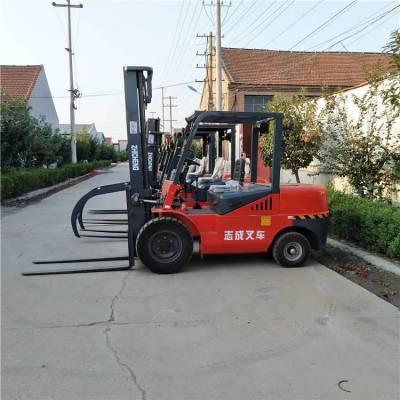 浩阳提供功率大耗油低叉车 工厂工地运输搬运车 挪动物料升高车