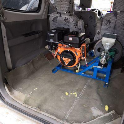 车载流动型江米棍膨化机/黑米大米杂粮膨化机/小型创业项目