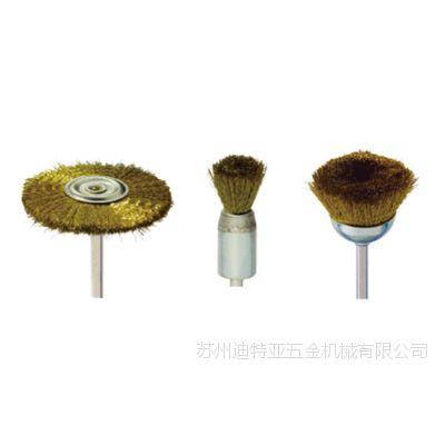 带柄铜丝刷 迷你T型铜丝刷 碗型刷 CUPPER WIRE BRUSHES