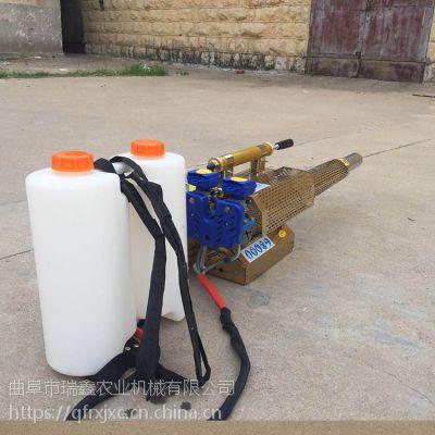 果树苗木杀虫防疫打药机 小型手提式烟雾机 操作方便农用打药机
