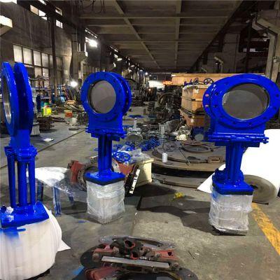 生产批发优惠价气动大口径PZ673H-16C DN800气动快开式刀闸阀生产厂家