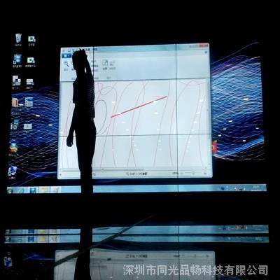 供应触摸拼接屏 拼接触摸框架 厂家梅花鹿科技定制
