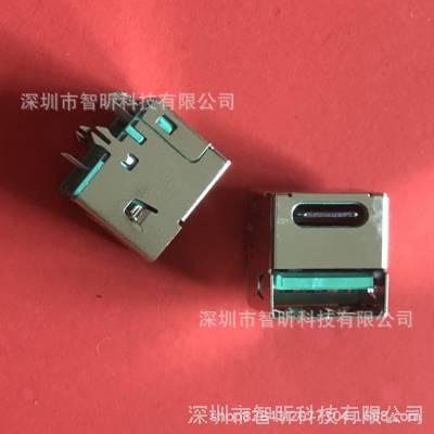 适用于车充TYPE-C+A母/双层type-C母座丨USB AF2.0+type-C插座