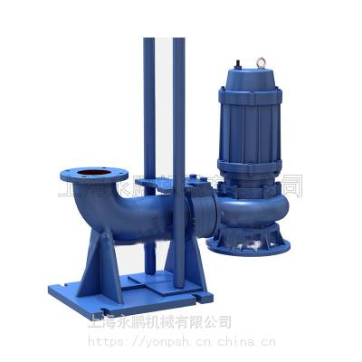 供应WQ型无堵塞潜水排污泵、无堵塞污水泵潜污泵