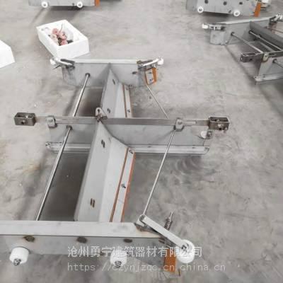 直销牛场羊场用的一拖一刮板清粪机 全自动刮板刮粪机配件