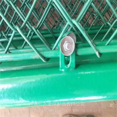三门峡陕县浸塑低碳钢丝网100平米起订 5×5CM孔菱形勾花网 养殖隔离网