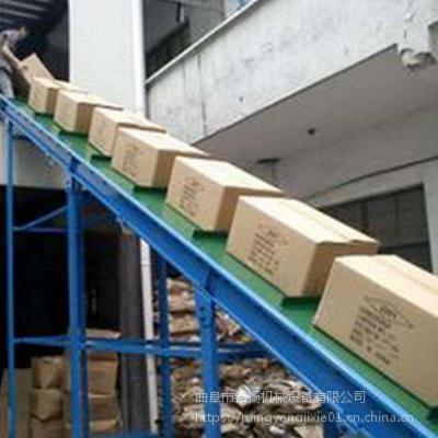 电滚筒式货物装车输送机价格自动快递装车机输送机铭扬机械