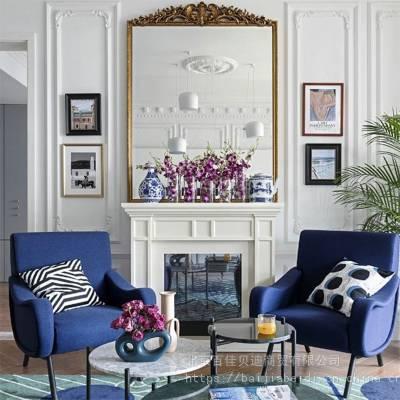 公寓沙发定做轻奢休闲椅老虎椅懒人蜗牛椅单人沙发布艺阳台飞机椅