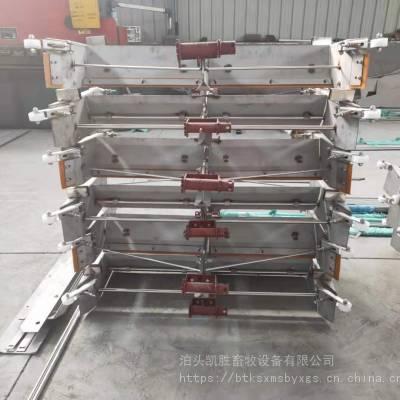 一拖二平板刮粪机 环保型304不锈钢猪用清洁设备 养殖舍电动清粪机