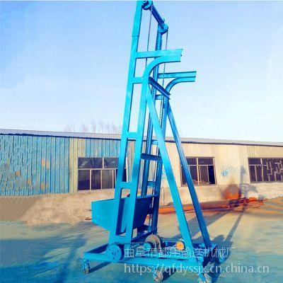 工地建筑垃圾单斗提升机 石灰渣单斗提升机 单斗提升机生产厂家