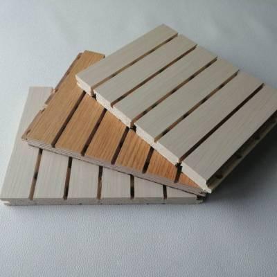 专业生产录音室墙面阻燃环保实木吸音板 木质吸音板