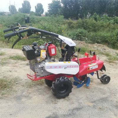 农用柴油耕地机 自走式开沟培土机 葱姜种植封沟机