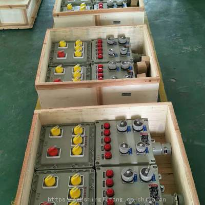 BXX51-6/16k防爆电源箱、钢板焊接防爆检修箱
