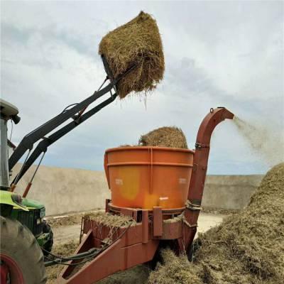 60目筛网秸秆粉碎机 鲜牧草铡草揉丝机 沙克龙粉碎机出料粉状