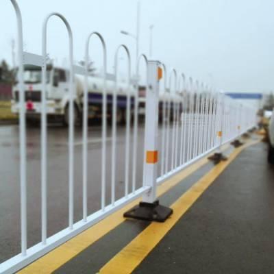 迈伦 道路机非隔离栏 京式隔离护栏 厂@ 人行道护栏厂家